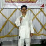 St Philomena P.U.College,Puttur bags Silver Medal in District Level Karate Competition